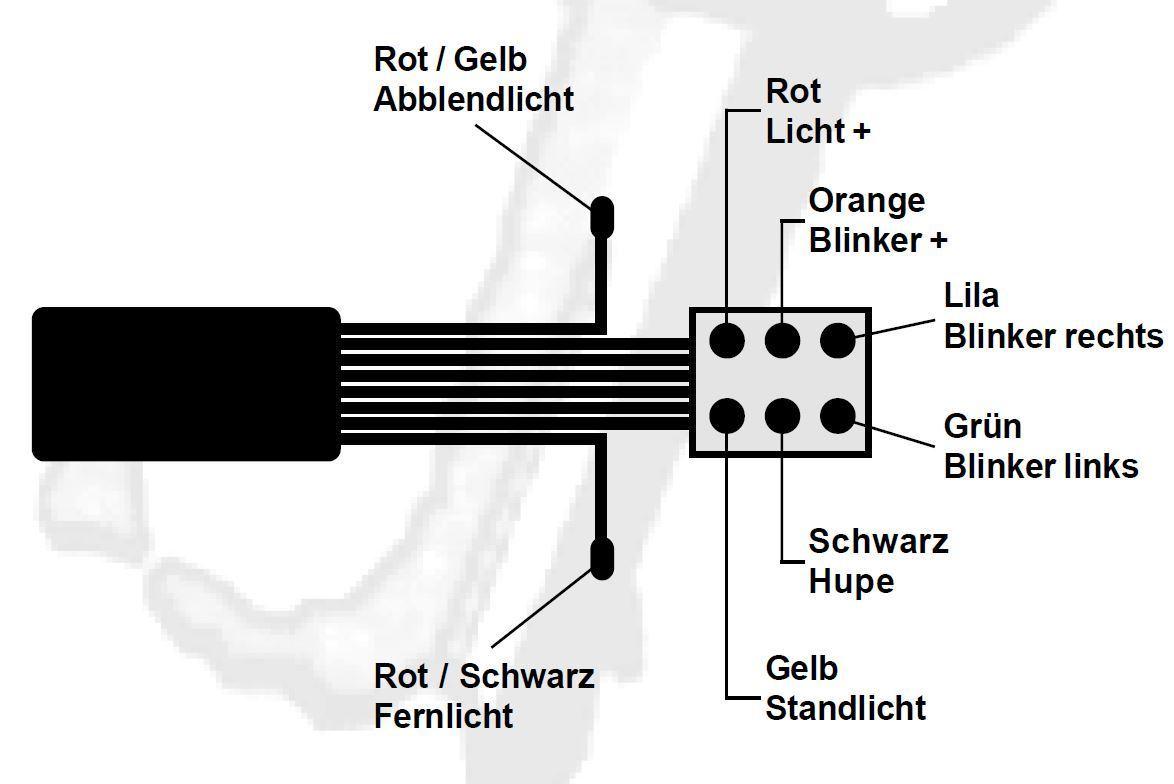 Blinkerschalter universal Metall.schwarz - Italo-Moto-Tec